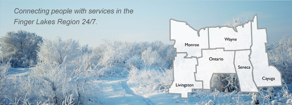 211 Connecting people with services in Monroe, Wayne, Livingston, Ontario, Seneca, and Cayuga Counties 24hrs